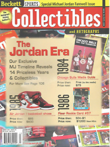 Beckett Sports Collectibles March 1999 Special Michael Jordan Farewell Issue