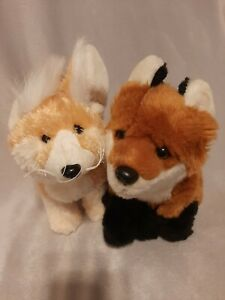 Webkinz signature Fox and Fennec Fox