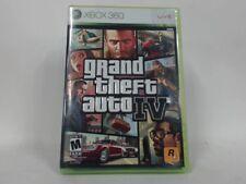GRAND THEFT AUTO IV Xbox 360 Complete CIB w/ Box, Manual Good