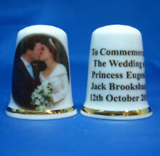 Birchcroft Thimble - Princess Eugenie & Jack Brooksbank Wedding (New) - Free Box