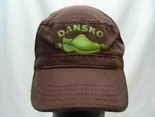 DANSKO - 1991 - RETRO - ADJUSTABLE CADET STYLE BALL CAP HAT