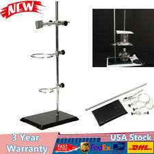 Laboratory Stands Support Set 50cm Lab Distilling Stand Supplies With Clamp Clip