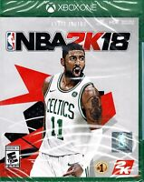 NBA 2K18 Kyrie Irving Microsoft Xbox One New Elite Gameplay Special Commentary