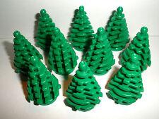 LEGO CITY / CREATOR / CLASSIC   10 Tannenbäume 2435 / 6268823 in grün    NEUWARE