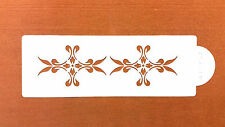 CAKE DECORATING STENCIL GREAT SIZE WEDDING CAKES AND OTHER CAKES ARTS CRAFTS S20