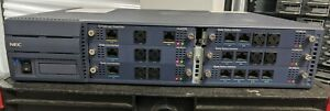 SV8100 CHS2U-US: NEC Telephone System Chassis w/2x CD-8DLCA, CD-16DLCA and more