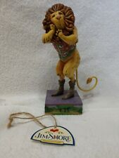 """Jim Shore Heartwood Creek """"Courage Lives Within You"""" Cowardly Lion- Retired 2007"""