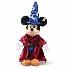 New Steiff Disney Sorcerer's Apprentice Mickey Mouse Plush Doll 30cm Limited F/S