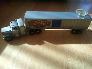 Vintage Hot Wheels 1980 Eagle Trucking Steering Rigs Truck Tractor Trailer