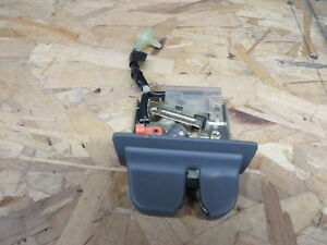 ACURA LEGEND 2 DOOR COUPE 89 90 TRUNK LATCH w/ SWITCH + GRAY COVER OEM