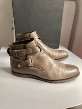 Dior Homme Brazil Boots. Middle Brown. Size 44. Crepe Sole