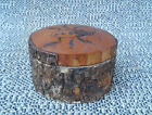 Antique Box Jewelry Wood Deco Chalet Insect Art Pop Savoie French Antique
