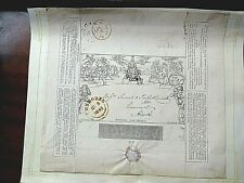 1841 Mulready One Penny letter sheet superb used postmarked Margate to Emsworth