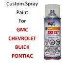 Custom Automotive Touch Up Spray Paint For CHEVY GMC PONTIAC BUICK