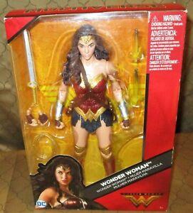 Mattel Wonder Woman Action Figure, DC Comics Multiverse 12 inch Figure