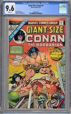 Giant-Size Conan the Barbarian #3 CGC 9.6 NM+ Wp Marvel Comics 1975 Gil Kane Cvr
