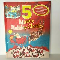 5 Minute Holiday Classics by Fern Bisel Peat Hardcover Book NEW Free Ship
