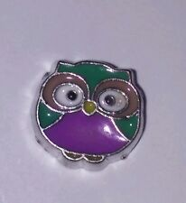 Cute colerful OWL Floating Charm for Living Locket fits Origami Owl