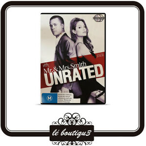 Mr & Mrs Smith  - Unrated (DVD, 2007, 2-Disc Set)