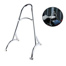 Silver Short Sissy Bar Backrest For Harley Sportster 1200 883 XL 2014-2016