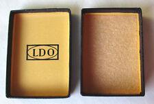 Originaletui für Verwundetenabzeichen 2.WK mit Hersteller LDO
