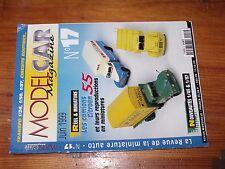 $$$ Revue Model Car Magazine N°17 Camions Citroen 55Scania 144Titan