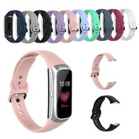 Silikon Schnalle Armband Uhrenarmband Ersatzband für Samsung Galaxy Fit SM-R370