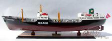 Texaco Oslo Tanker Handmade Wooden Oil Tanker Ship Model