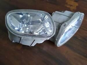 Daihatsu Sirion M100 Fog Lights 2k clear coated