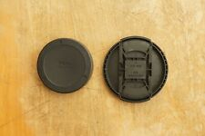 Sigma LCF-72 III 72mm Lens Front and Rear Cap