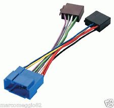 Cavo per autoradio con connettore ISO per Fiat/Honda/Nissan/Opel/Suzuki