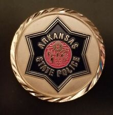 ARKANSAS STATE POLICE CHALLENGE COIN - NEWEST DESIGN!!