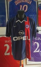 Maillot jersey maglia camiseta shirt trikot 2001 2002 01 02 psg paris vintage XL