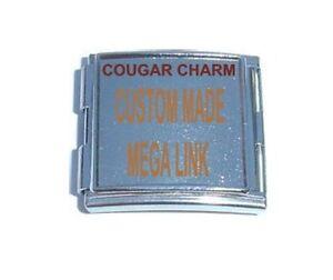 Italian Charms CUSTOM MADE Megalink MEGA LINK 18mm Photo / Laser