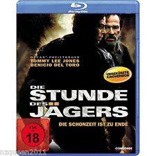 Die Stunde des Jägers [Blu-ray] Tommy Lee Jones, Benicio Del Toro * NEU & OVP *