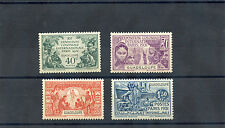 GUADELOUPE Sc 138-41(YT 123-6)**VF NH 1931 COLONIAL ARTS $105