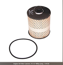 Omix-ADA 17436.02 Engine Oil Filter Canister; 45-67 Willys/Jeep, 134CID
