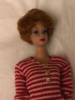 Vintage BARBIE DOLL TITIAN/redhead Bubblecut Mattel 1960s SL