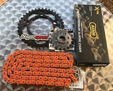 AFAM pezzo per catena KTM 990 Superduke,R,17-38-110,arancione,Kit catena,LC8