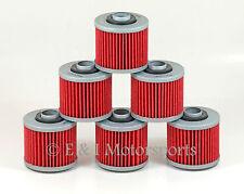 Aprilia 10 Pack HF 145 Type Oil Filter Type  Yamaha