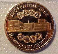 Medaille HAMBURG -  Hamburgische Münze 1875 - 1975 - PP/Proof verblistert