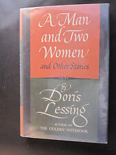 A MAN AND TWO WOMEN by Doris Lessing, First Edition, SIGNED. Fine condition.