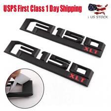 Molding Red F150 XLT Raptor Emblem Badge Accessories For Ford F-150 Pickup