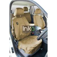 VW Amarok Full Set INKA Tailored Waterproof Seat Covers Sand MY 2011 onwards