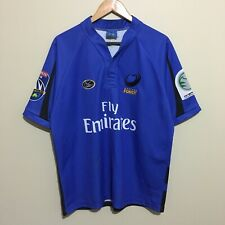 Western Force Isc Super 14 Authentic 2006 Inaugural Shirt Jersey Blue Mens Large
