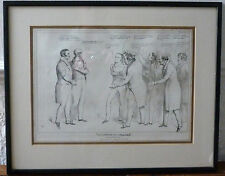 Rare Political Cartoon by HB (John Doyle 1797-1868) Published January 25th. 1832