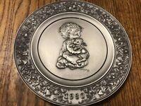 The Little Shepherd Hallmark Fine Pewter Plate Little Gallery 1980 Free Shipp