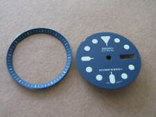 = BLUE Dial /Hands /Minute Ring Set made for SEIKO 7S26-0030 DIVER  NEW