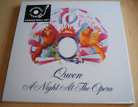 queen a night at the opera stretch canvas wall art 40cm x 40cm official  new