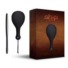 Spanking Leather Sexual Paddle Black Adult Hand Toy